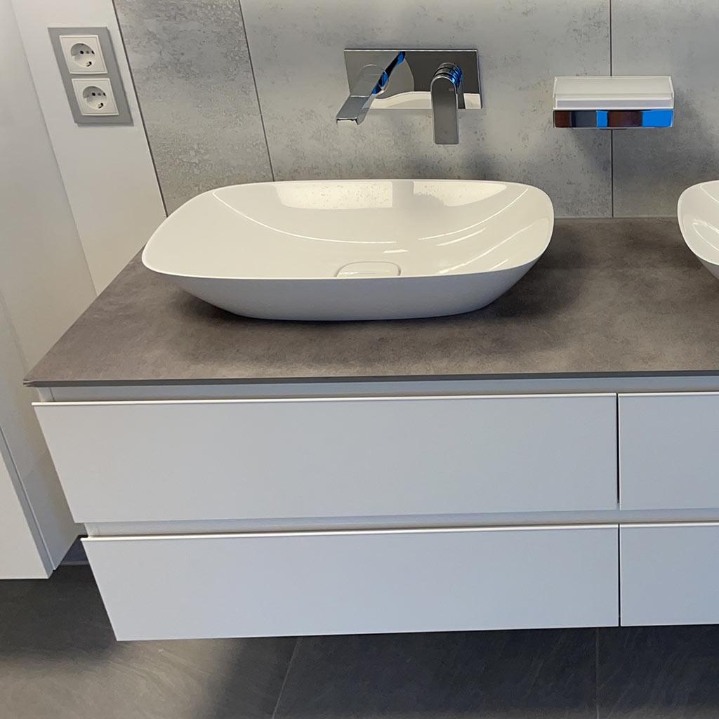 Modernes badezimmer waschbecken redemann bonn