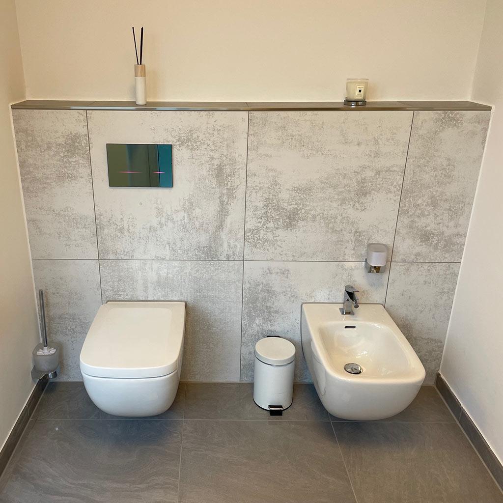 Neue toilette und bidet redemann bonn